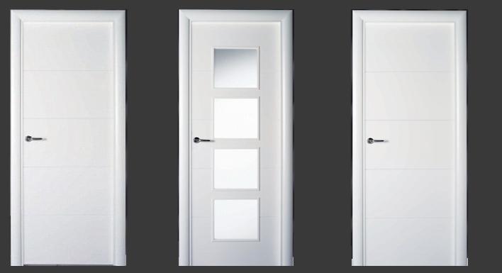 Precio lacar puertas blanco finest recibidor lacado - Lacar puertas blanco ...