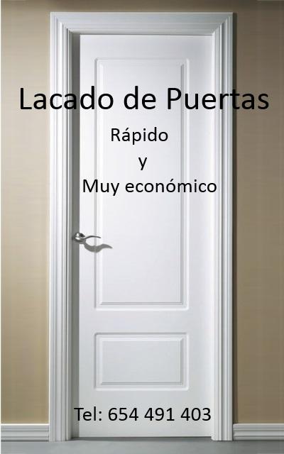 Pintores Económicos Madrid-Lacado de Puertas Madrid | Lacado de ...